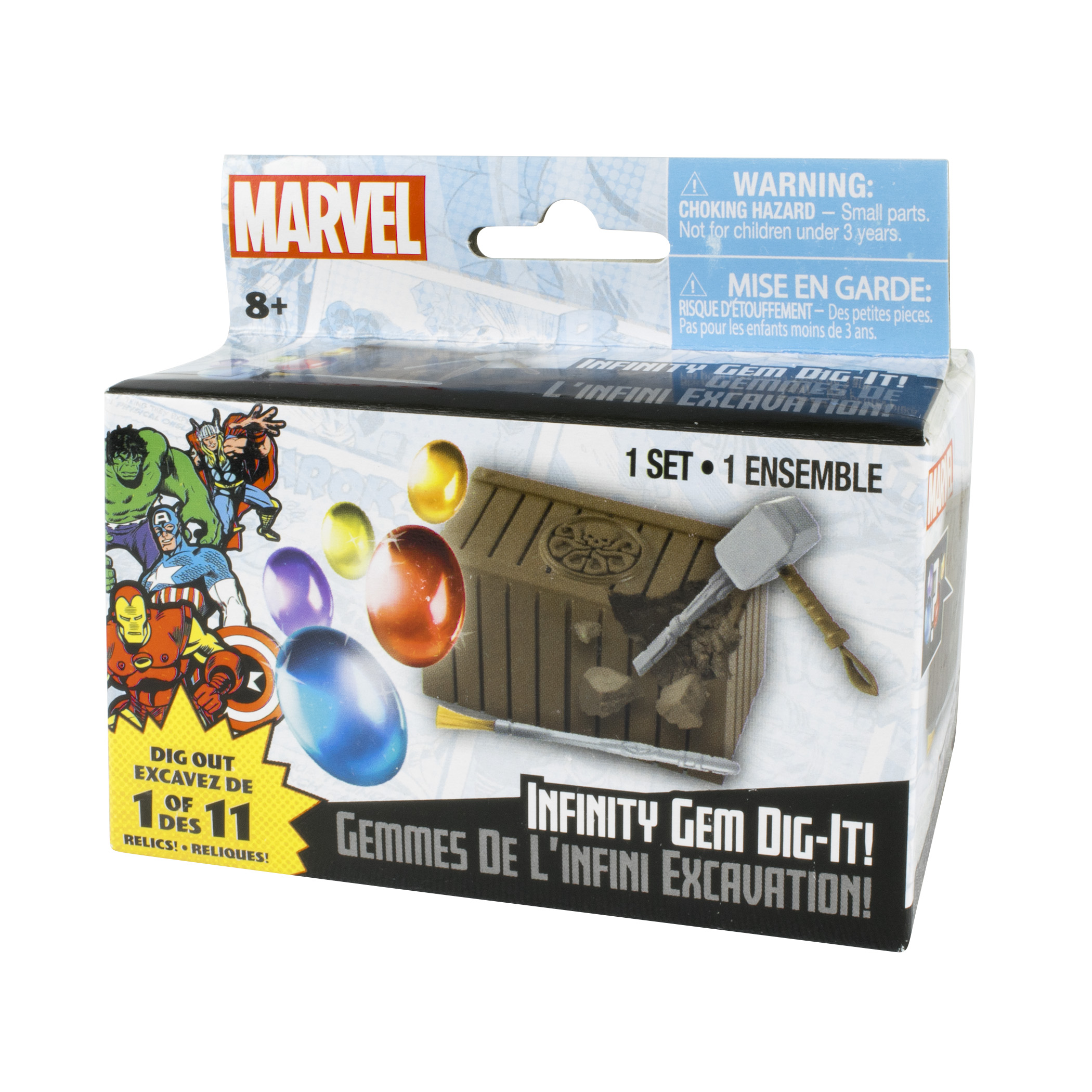 Marvel Infinity Gem Dig It Grin Studios